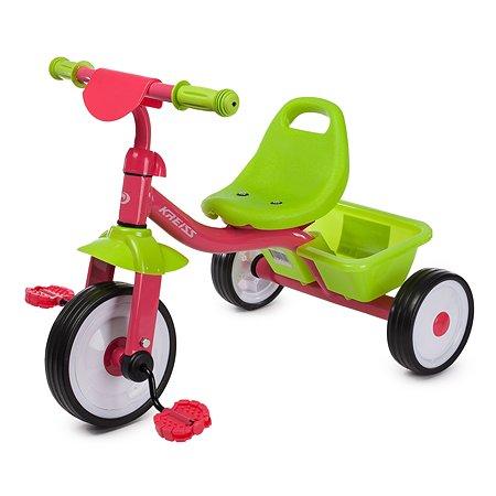 Велосипед Kreiss розово-зеленый