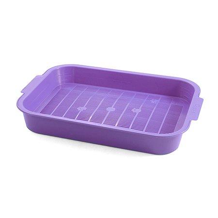 Туалет для кошек GAMMA Колор Фиолетовый