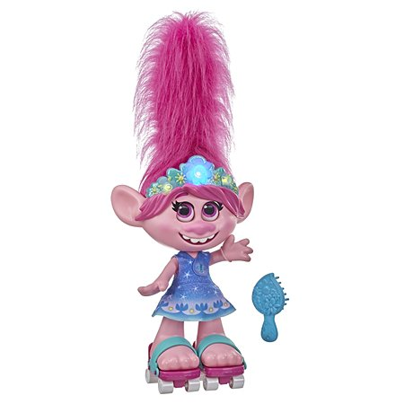 Кукла Trolls 2 Розочка Танцующие волосы E9459RG0