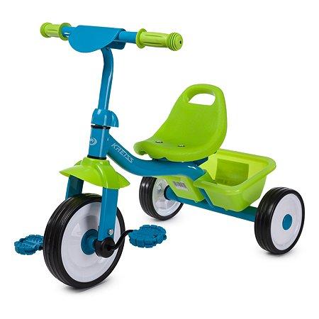 Велосипед Kreiss сине-зеленый
