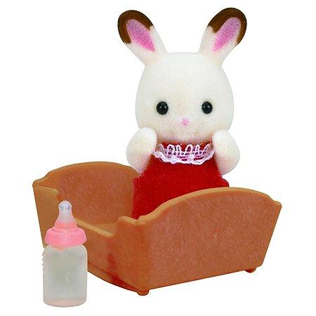 Набор Sylvanian Families малыш шоколадный кролик 3410