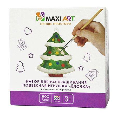 Набор для раскрашивания Maxi Art Ёлочка