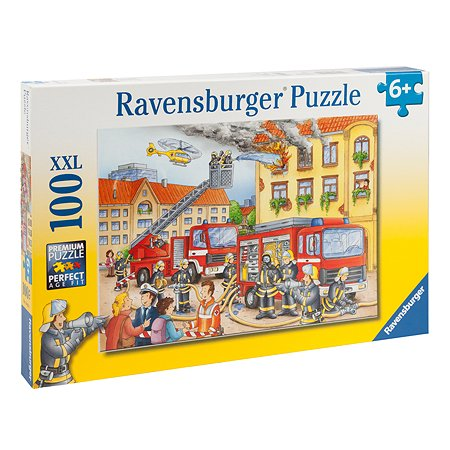 Пазл Ravensburger На пожаре 100элементов 10822