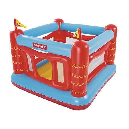 Батут надувной Bestway Inflatables Fisher Price 175*173*135см