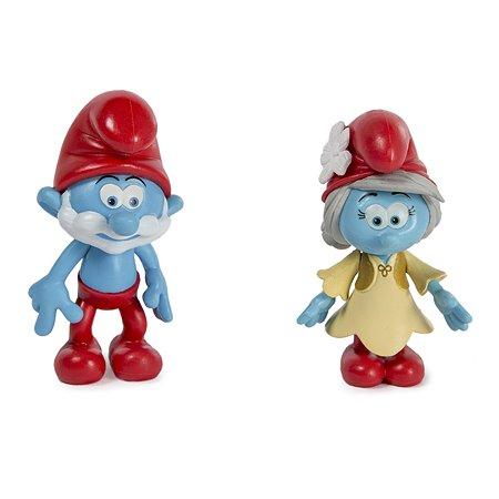 Набор из 2-х фигурок Smurfs Папа смурф и Ива 5 см