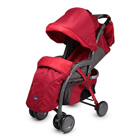 Прогулочная коляска Chicco Simplicity Plus Red