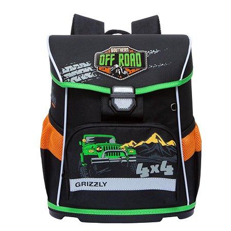 Рюкзак Grizzly для мальчика джип в темноте