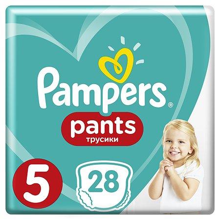 Подгузники-трусики Pampers Pants 5 12-17кг 28шт