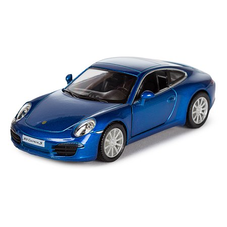 Машина Mobicaro Porsche 911 Carrera 1:32 Голубой металлик