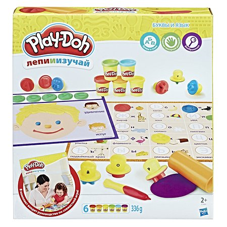 Набор для творчества Play-Doh Буквы и языки
