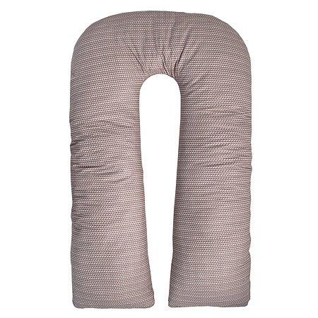 Подушка для беременных AMARO BABY Classic Collection Рельеф U-образная ABDM-40U-OCK