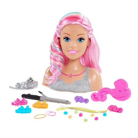 Торс для создания причесок Barbie Dreamtopia 62625