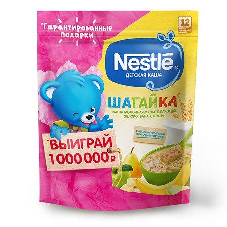 Каша молочная Nestle Шагайка 5 злаков яблоко-банан-груша 200г с 12месяцев