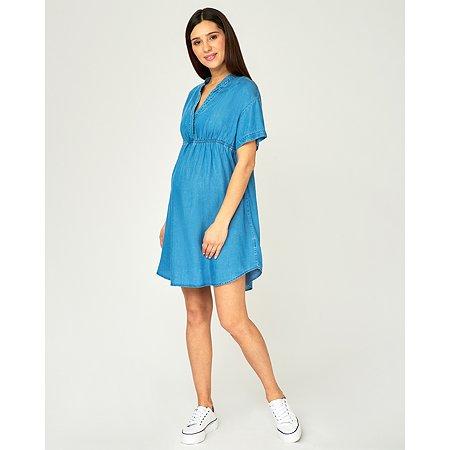 Туника для беременных Futurino Mama синяя