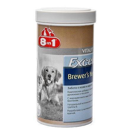 Добавка для кошек и собак 8in1 Excel Дрожжи пивные 780 таблеток