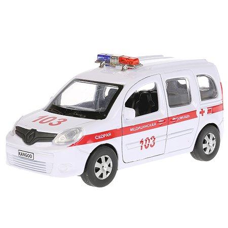 Машина Технопарк Renault Kangoo Скорая помощь инерционная 268493