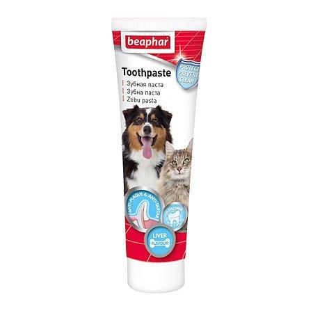 Паста для собак и кошек Beaphar Toothpaste зубная со вкусом печени 100г