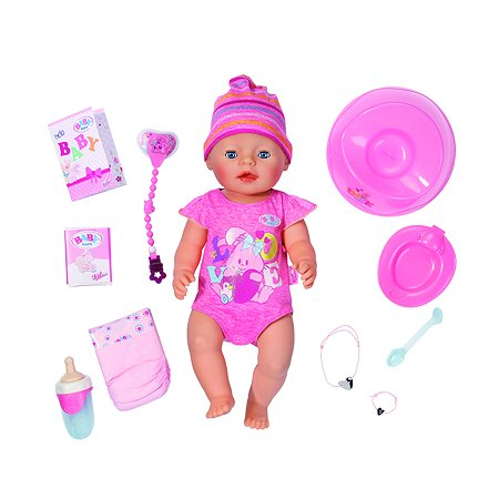 Кукла Zapf Creation Baby born интерактивная 823-163