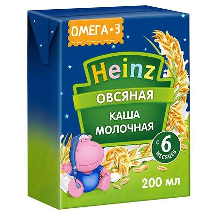 Кашка молочная Heinz с Омега 3 овсяная 0.2л с 6месяцев