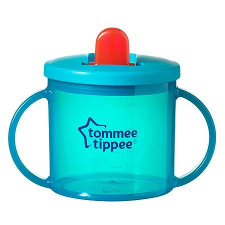 Чашка-непроливайка Tommee tippee 190мл Бирюзовая 43111087-2