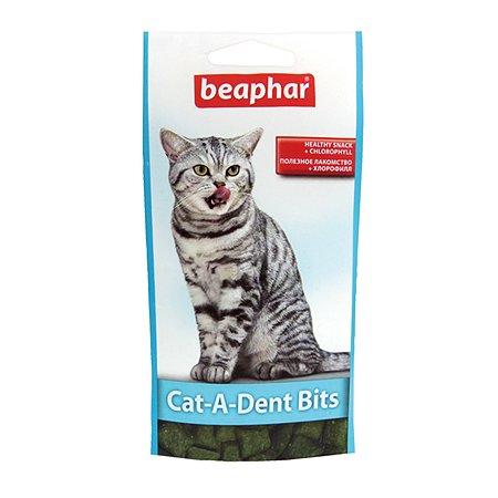 Подушечки для кошек Beaphar Cat-A-Dent Bits для чистки зубов 35г