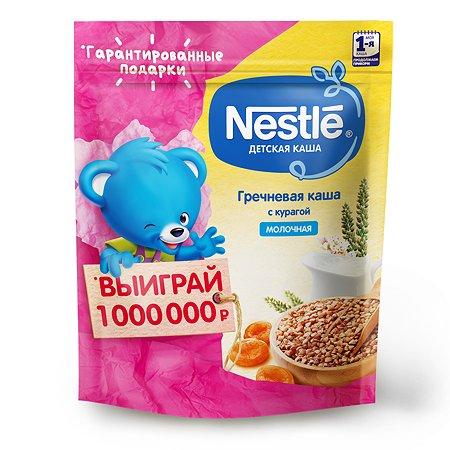 Каша молочная Nestle гречневая с курагой 220г с 6месяцев