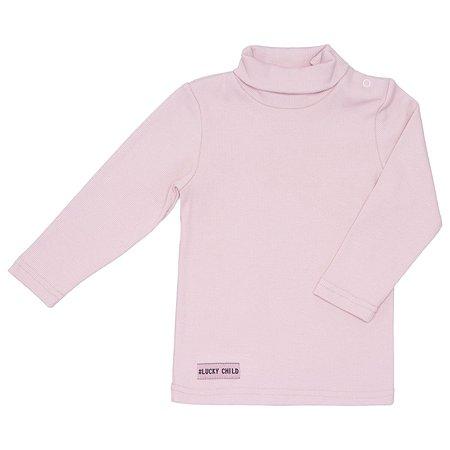 Водолазка Lucky Child светло-розовая