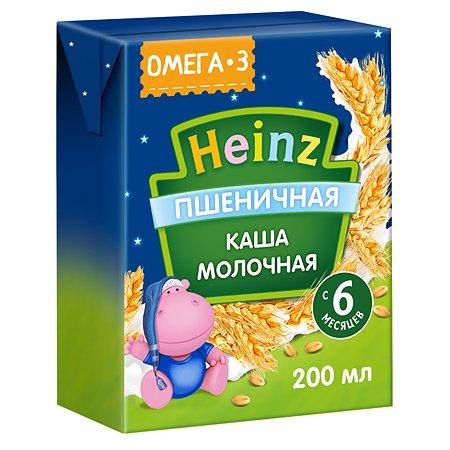 Кашка молочная Heinz с Омега 3 пшеничная 0.2л с 6месяцев