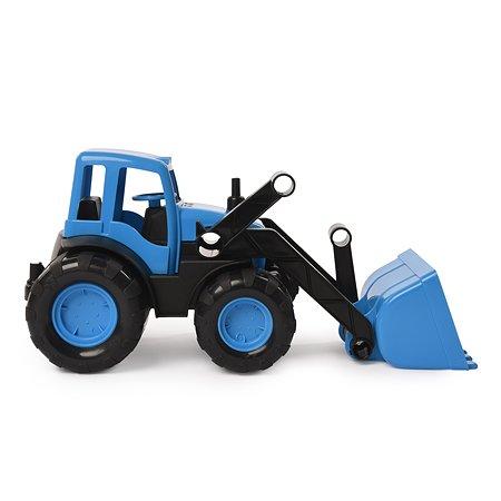 Трактор Zebratoys с ковшом Active Синий