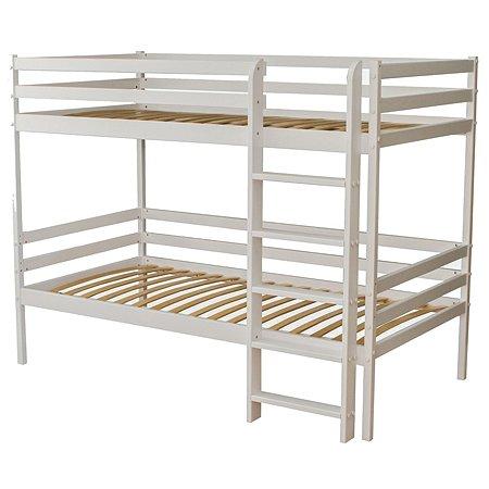 Кровать двухъярусная Красная Звезда (Можга) Серый Р426