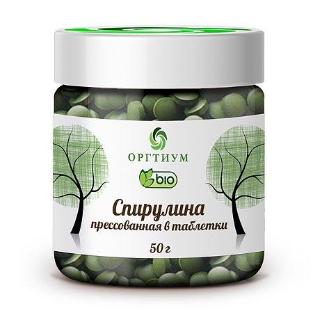 Водоросли Оргтиум Спирулина 50г СВ025