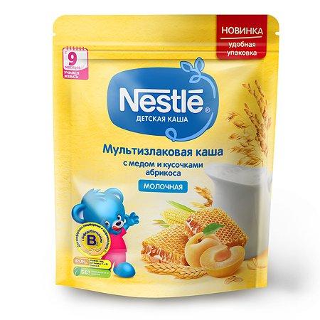 Каша молочная Nestle мультизлаковая мед-абрикос 220г с 9месяцев