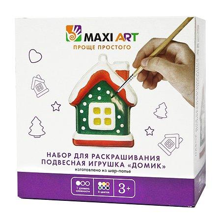 Набор для раскрашивания Maxi Art Домик