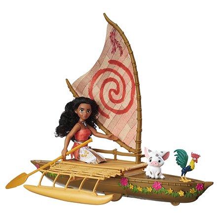Кукла Princess Моана и лодка