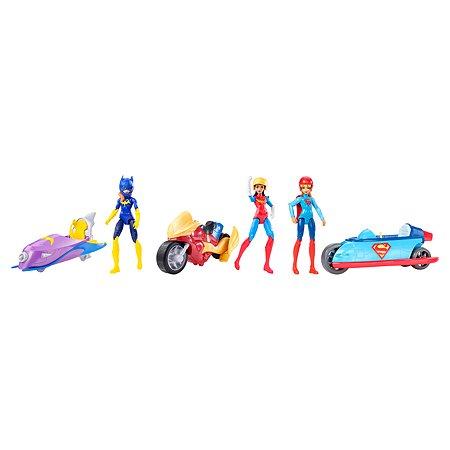 Набор игровой DC Hero Girls Фигурка с мотоциклом в ассортименте DVG72