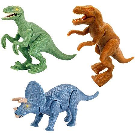 Фигурка динозавра Dragon заводная в ассортименте 16902