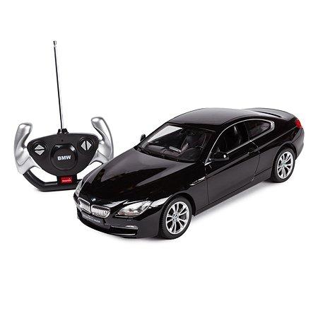 Машинка радиоуправляемая Rastar BMW 6 Series 1:14 черная