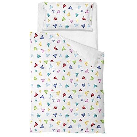 Комплект постельного белья Babyton Треугольники 2предмета DMC812/37
