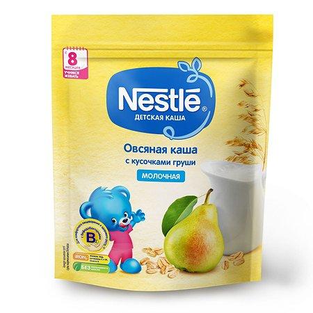 Каша молочная Nestle овсяная с кусочками груши 220г с 8месяцев