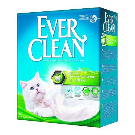 Наполнитель для кошек EVER CLEAN Extra Strong Clumping Scented с ароматизатором комкующийся 6л