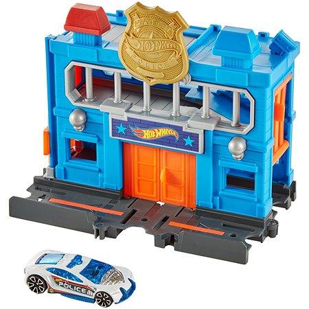 Набор игровой Hot Wheels Прорыв полицейского участка FRH33