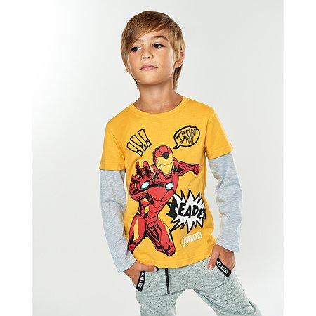 Футболка  Avengers жёлтая