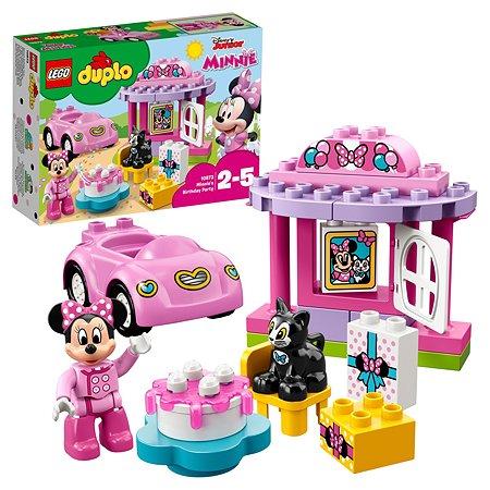 Конструктор LEGO DUPLO Disney День рождения Минни (10873)