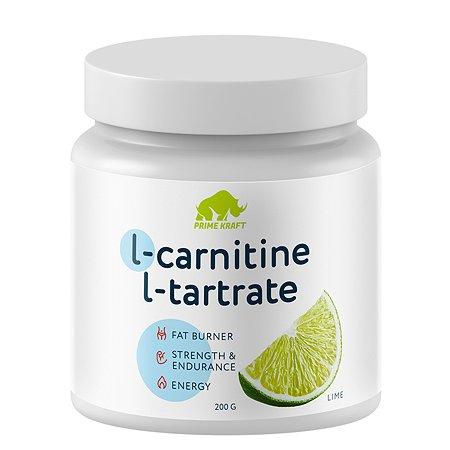 КоктейльL-Carnitine L-Tartale Prime Kraft лайм 200г