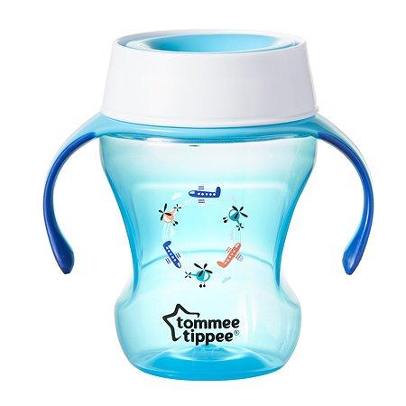 Чашка-непроливайка Tommee tippee 230мл с 6месяцев Голубая 44703591-2