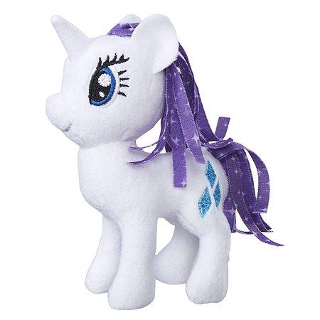 Игрушка мягкая My Little Pony Пони Рарити 2 с волосами C0104EU4