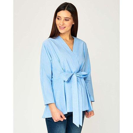 Рубашка для беременных Futurino Mama голубая