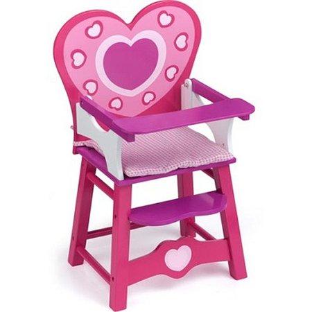 Мебель кукольная Devik Toys Деревянный стульчик