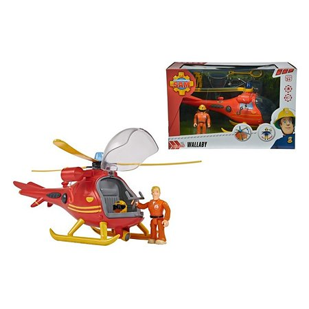 Вертолет Fireman Sam со светом звуком аксесс