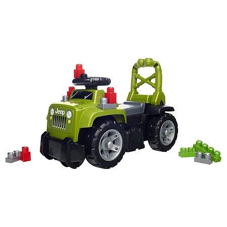 Конструктор Mega Bloks Большой зеленый джип 3-в-1